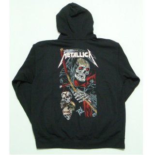 METALLICA Death Reaper, Zip-Upパーカー
