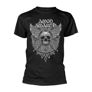 AMON AMARTH Grey Skull, Tシャツ<img class='new_mark_img2' src='https://img.shop-pro.jp/img/new/icons5.gif' style='border:none;display:inline;margin:0px;padding:0px;width:auto;' />