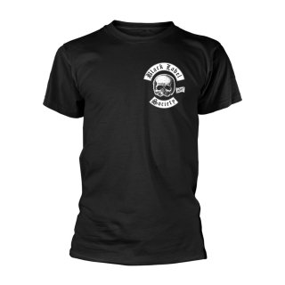 BLACK LABEL SOCIETY Skull Logo Pocket (black), Tシャツ