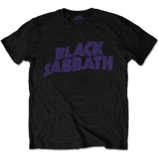 BLACK SABBATH Wavy Logo Vintage, Tシャツ<img class='new_mark_img2' src='https://img.shop-pro.jp/img/new/icons5.gif' style='border:none;display:inline;margin:0px;padding:0px;width:auto;' />