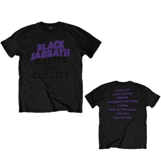 BLACK SABBATH Masters of Reality Album, Tシャツ