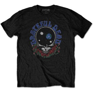 GRATEFUL DEAD Space Your Face & Logo, Tシャツ