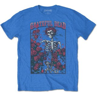 GRATEFUL DEAD Bertha & Logo Blu, Tシャツ