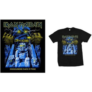IRON MAIDEN Back In Time Mummy, Tシャツ