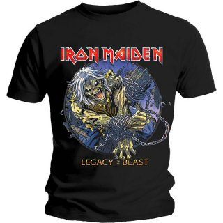 IRON MAIDEN Eddie Chained Legacy, Tシャツ