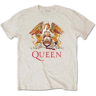 QUEEN Classic Crest Sand, Tシャツ