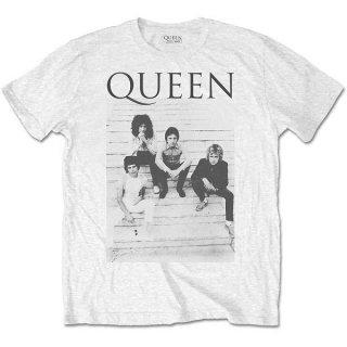 QUEEN Stairs, Tシャツ<img class='new_mark_img2' src='https://img.shop-pro.jp/img/new/icons5.gif' style='border:none;display:inline;margin:0px;padding:0px;width:auto;' />