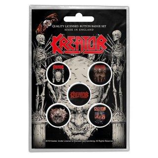 KREATOR Skull & Skeletons, バッジセット