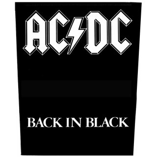 AC/DC Back in Black, バックパッチ<img class='new_mark_img2' src='https://img.shop-pro.jp/img/new/icons5.gif' style='border:none;display:inline;margin:0px;padding:0px;width:auto;' />