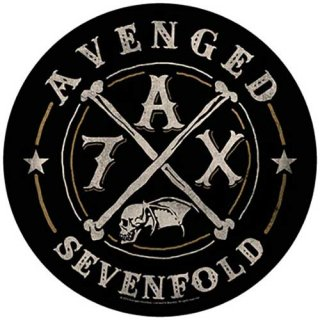 AVENGED SEVENFOLD A7X, バックパッチ<img class='new_mark_img2' src='https://img.shop-pro.jp/img/new/icons5.gif' style='border:none;display:inline;margin:0px;padding:0px;width:auto;' />