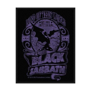 BLACK SABBATH Lord Of This World, パッチ<img class='new_mark_img2' src='https://img.shop-pro.jp/img/new/icons5.gif' style='border:none;display:inline;margin:0px;padding:0px;width:auto;' />