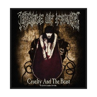 CRADLE OF FILTH Cruelty and the Beast, パッチ<img class='new_mark_img2' src='https://img.shop-pro.jp/img/new/icons5.gif' style='border:none;display:inline;margin:0px;padding:0px;width:auto;' />
