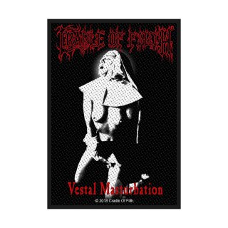 CRADLE OF FILTH Vestal Masturbation, パッチ<img class='new_mark_img2' src='https://img.shop-pro.jp/img/new/icons5.gif' style='border:none;display:inline;margin:0px;padding:0px;width:auto;' />