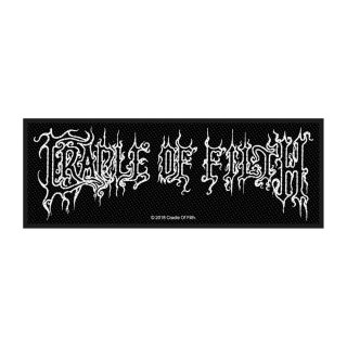 CRADLE OF FILTH Logo, パッチ<img class='new_mark_img2' src='https://img.shop-pro.jp/img/new/icons5.gif' style='border:none;display:inline;margin:0px;padding:0px;width:auto;' />