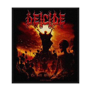 DEICIDE To Hell With God, パッチ<img class='new_mark_img2' src='https://img.shop-pro.jp/img/new/icons5.gif' style='border:none;display:inline;margin:0px;padding:0px;width:auto;' />