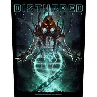 DISTURBED Evolution, バックパッチ<img class='new_mark_img2' src='https://img.shop-pro.jp/img/new/icons5.gif' style='border:none;display:inline;margin:0px;padding:0px;width:auto;' />