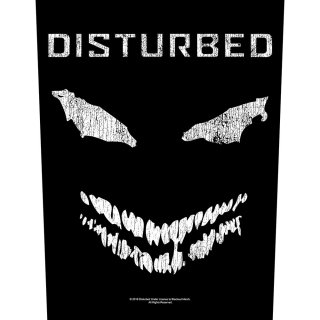 DISTURBED Face, バックパッチ<img class='new_mark_img2' src='https://img.shop-pro.jp/img/new/icons5.gif' style='border:none;display:inline;margin:0px;padding:0px;width:auto;' />