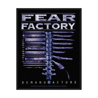 FEAR FACTORY Demanufacture, パッチ<img class='new_mark_img2' src='https://img.shop-pro.jp/img/new/icons5.gif' style='border:none;display:inline;margin:0px;padding:0px;width:auto;' />