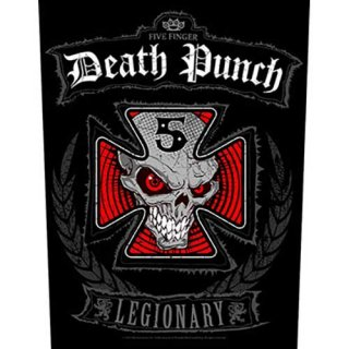 FIVE FINGER DEATH PUNCH Legionary, バックパッチ<img class='new_mark_img2' src='https://img.shop-pro.jp/img/new/icons5.gif' style='border:none;display:inline;margin:0px;padding:0px;width:auto;' />