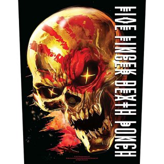 FIVE FINGER DEATH PUNCH And Justice for None, バックパッチ<img class='new_mark_img2' src='https://img.shop-pro.jp/img/new/icons5.gif' style='border:none;display:inline;margin:0px;padding:0px;width:auto;' />