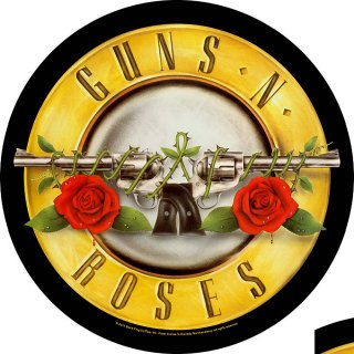 GUNS N' ROSES Bullet Logo, バックパッチ<img class='new_mark_img2' src='https://img.shop-pro.jp/img/new/icons5.gif' style='border:none;display:inline;margin:0px;padding:0px;width:auto;' />