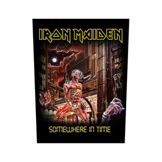 IRON MAIDEN Somewhere In Time, バックパッチ<img class='new_mark_img2' src='https://img.shop-pro.jp/img/new/icons5.gif' style='border:none;display:inline;margin:0px;padding:0px;width:auto;' />