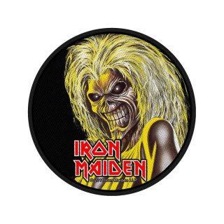 IRON MAIDEN Killers, パッチ<img class='new_mark_img2' src='https://img.shop-pro.jp/img/new/icons5.gif' style='border:none;display:inline;margin:0px;padding:0px;width:auto;' />