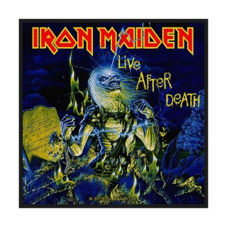 IRON MAIDEN Live After Death, パッチ<img class='new_mark_img2' src='https://img.shop-pro.jp/img/new/icons5.gif' style='border:none;display:inline;margin:0px;padding:0px;width:auto;' />