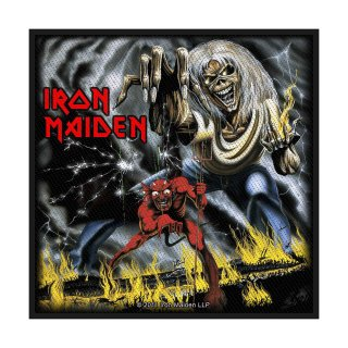 IRON MAIDEN Number of the Beast, パッチ<img class='new_mark_img2' src='https://img.shop-pro.jp/img/new/icons5.gif' style='border:none;display:inline;margin:0px;padding:0px;width:auto;' />
