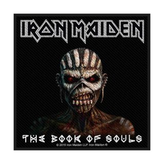 IRON MAIDEN The Book Of Souls, パッチ<img class='new_mark_img2' src='https://img.shop-pro.jp/img/new/icons5.gif' style='border:none;display:inline;margin:0px;padding:0px;width:auto;' />