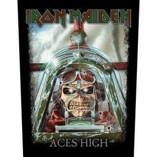 IRON MAIDEN Aces High, バックパッチ<img class='new_mark_img2' src='https://img.shop-pro.jp/img/new/icons5.gif' style='border:none;display:inline;margin:0px;padding:0px;width:auto;' />
