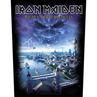 IRON MAIDEN Brave New World, バックパッチ<img class='new_mark_img2' src='https://img.shop-pro.jp/img/new/icons5.gif' style='border:none;display:inline;margin:0px;padding:0px;width:auto;' />