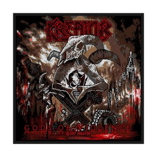 KREATOR Gods of Violence, パッチ<img class='new_mark_img2' src='https://img.shop-pro.jp/img/new/icons5.gif' style='border:none;display:inline;margin:0px;padding:0px;width:auto;' />