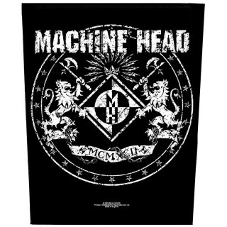 MACHINE HEAD Crest, バックパッチ<img class='new_mark_img2' src='https://img.shop-pro.jp/img/new/icons5.gif' style='border:none;display:inline;margin:0px;padding:0px;width:auto;' />