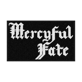 MERCYFUL FATE Logo, パッチ<img class='new_mark_img2' src='https://img.shop-pro.jp/img/new/icons5.gif' style='border:none;display:inline;margin:0px;padding:0px;width:auto;' />