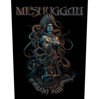 MESHUGGAH Violent Sleep of Reason, バックパッチ<img class='new_mark_img2' src='https://img.shop-pro.jp/img/new/icons5.gif' style='border:none;display:inline;margin:0px;padding:0px;width:auto;' />
