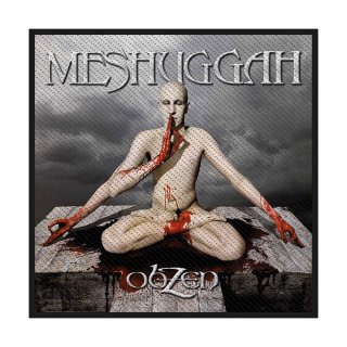 MESHUGGAH Obzen, パッチ<img class='new_mark_img2' src='https://img.shop-pro.jp/img/new/icons5.gif' style='border:none;display:inline;margin:0px;padding:0px;width:auto;' />
