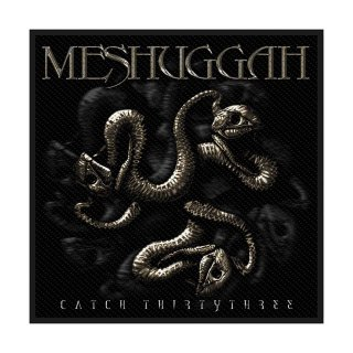MESHUGGAH Catch 33, パッチ<img class='new_mark_img2' src='https://img.shop-pro.jp/img/new/icons5.gif' style='border:none;display:inline;margin:0px;padding:0px;width:auto;' />
