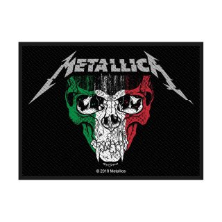 METALLICA Italy, パッチ<img class='new_mark_img2' src='https://img.shop-pro.jp/img/new/icons5.gif' style='border:none;display:inline;margin:0px;padding:0px;width:auto;' />