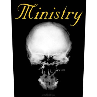 MINISTRY The Mind is a terrible thing, バックパッチ<img class='new_mark_img2' src='https://img.shop-pro.jp/img/new/icons5.gif' style='border:none;display:inline;margin:0px;padding:0px;width:auto;' />