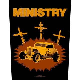 MINISTRY Jesus Built My Hot-Rod, バックパッチ<img class='new_mark_img2' src='https://img.shop-pro.jp/img/new/icons5.gif' style='border:none;display:inline;margin:0px;padding:0px;width:auto;' />