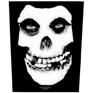 MISFITS Face Skull, バックパッチ<img class='new_mark_img2' src='https://img.shop-pro.jp/img/new/icons5.gif' style='border:none;display:inline;margin:0px;padding:0px;width:auto;' />