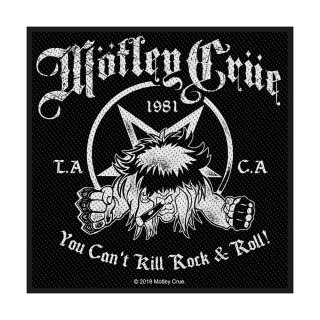 MOTLEY CRUE You Can't Kill Rock n' Roll, パッチ<img class='new_mark_img2' src='https://img.shop-pro.jp/img/new/icons5.gif' style='border:none;display:inline;margin:0px;padding:0px;width:auto;' />