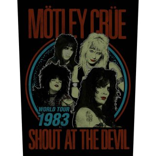 MOTLEY CRUE Shout at the Devil, バックパッチ<img class='new_mark_img2' src='https://img.shop-pro.jp/img/new/icons5.gif' style='border:none;display:inline;margin:0px;padding:0px;width:auto;' />