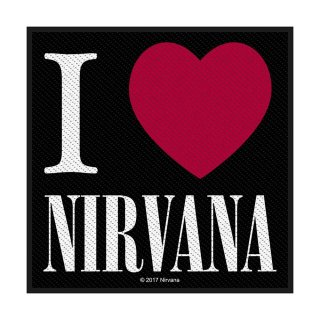 NIRVANA I Love Nirvana, パッチ<img class='new_mark_img2' src='https://img.shop-pro.jp/img/new/icons5.gif' style='border:none;display:inline;margin:0px;padding:0px;width:auto;' />
