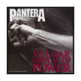PANTERA Vulgar Display Of Power, パッチ<img class='new_mark_img2' src='https://img.shop-pro.jp/img/new/icons5.gif' style='border:none;display:inline;margin:0px;padding:0px;width:auto;' />