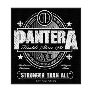 PANTERA Stronger Than All, パッチ<img class='new_mark_img2' src='https://img.shop-pro.jp/img/new/icons5.gif' style='border:none;display:inline;margin:0px;padding:0px;width:auto;' />