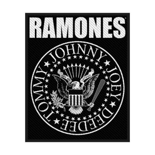 RAMONES Classic Seal, パッチ<img class='new_mark_img2' src='https://img.shop-pro.jp/img/new/icons5.gif' style='border:none;display:inline;margin:0px;padding:0px;width:auto;' />
