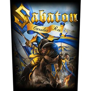 SABATON Carolus Rex, バックパッチ<img class='new_mark_img2' src='https://img.shop-pro.jp/img/new/icons5.gif' style='border:none;display:inline;margin:0px;padding:0px;width:auto;' />