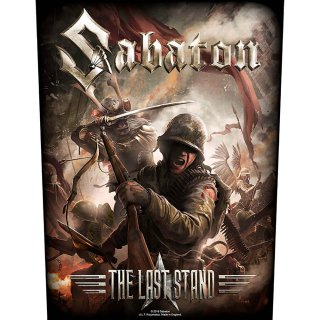 SABATON The Last Stand, バックパッチ<img class='new_mark_img2' src='https://img.shop-pro.jp/img/new/icons5.gif' style='border:none;display:inline;margin:0px;padding:0px;width:auto;' />
